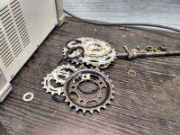 Jak przymocować koło zębate do koła rowerowego