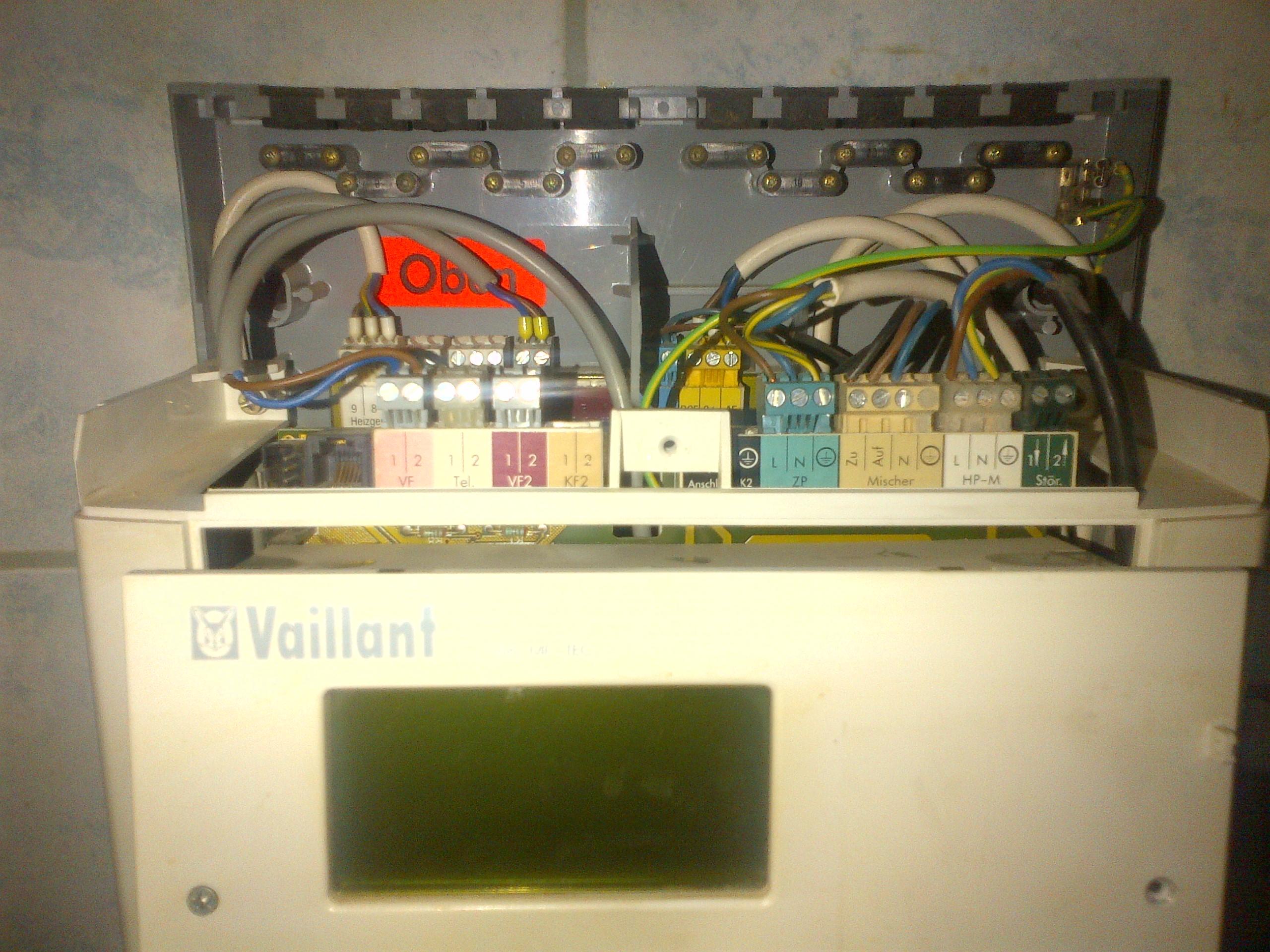 Vaillant VRC MF-TEC  - Vaillant VRC MF-TEC zegar nie odmierza czasu