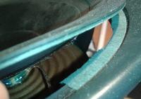 tannoy mercury m3 - Naprawa zawieszenia głośnika z kolumn tannoy M3