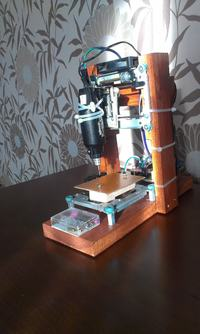 Miniaturowa frezarka CNC