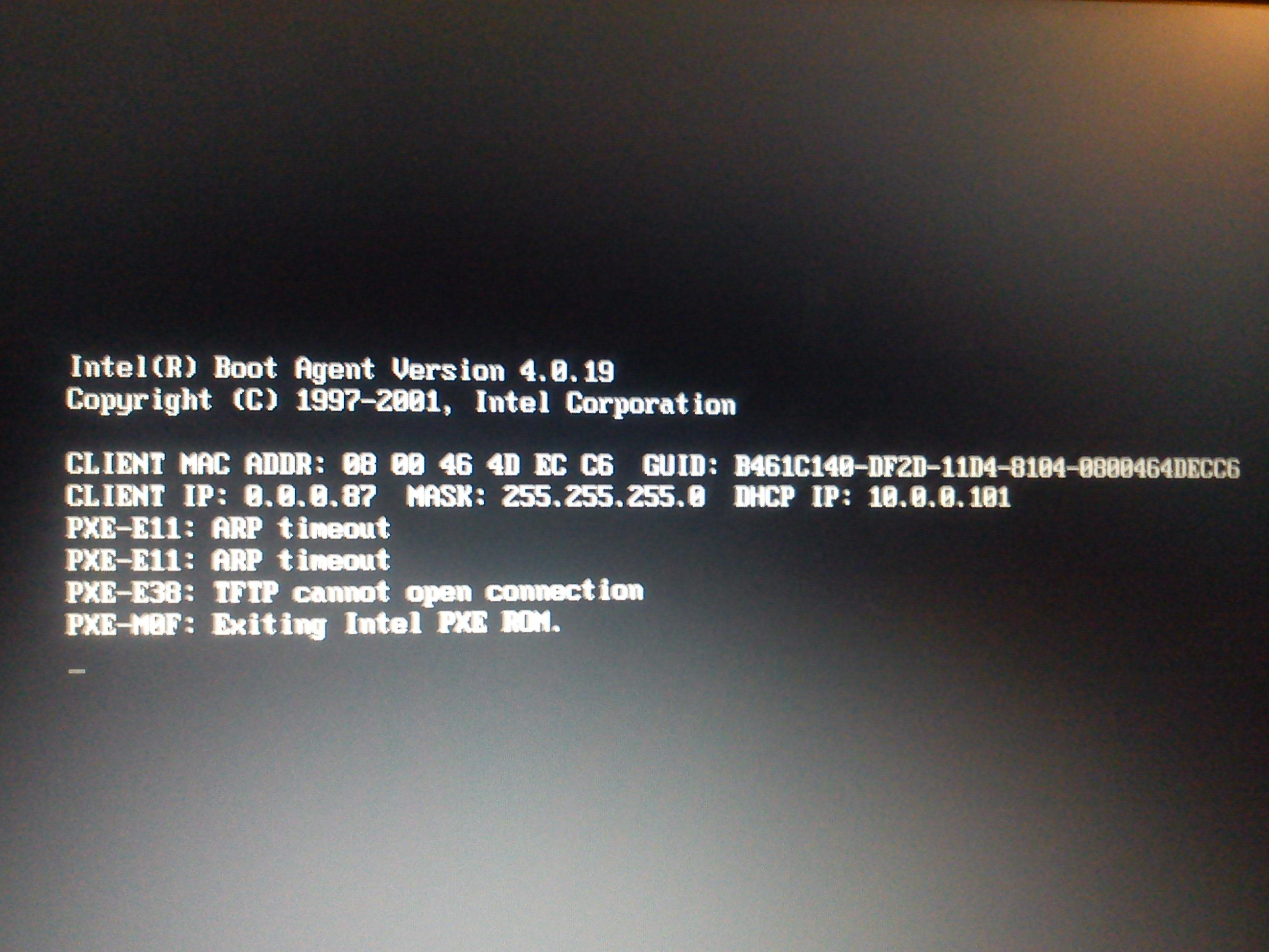 Sony VAIO PCG-R505B/P - Instalacja systemu przez LAN
