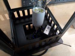 Zdalnie sterowana lampa do altany.