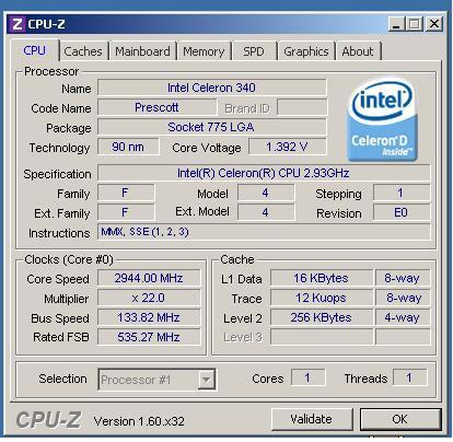 Asus P5GPL widzi tylko 1GB zamiast 1,5GB RAM