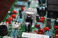 Generator sinusoidy - przegrzanie tranzystorów mocy.