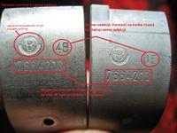 Co znacz� oznaczenia na panewkach korbowych ursus c -330