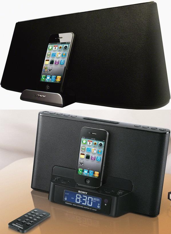 Sony RDP-X500iP i ICF-CS15iP - doki z g�o�nikami dla iPhone'a