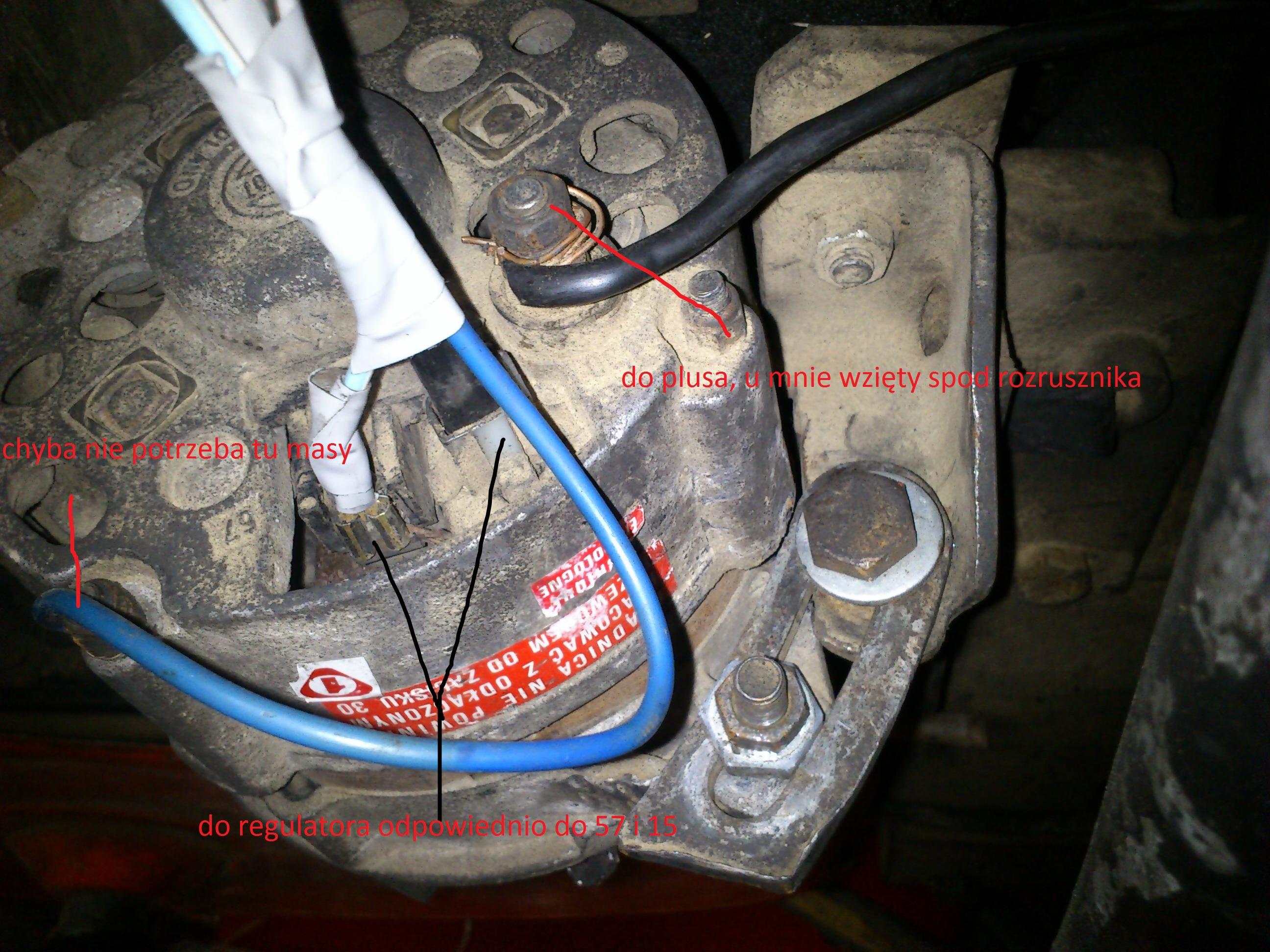 Ursus C-330 i alternator - naprawa niedzia�aj�cej instalacji �adowania
