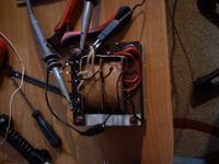 Faza uzwojeń transformatora głośnikowego