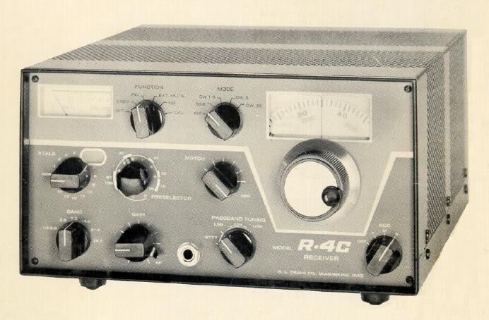 Drake R-4C, R4C Instrukcja EN