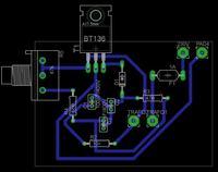 Prostownik do akumulator�w 12V z regulacj� pr�du �adowania.