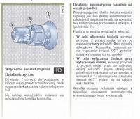 Automatyczny włącznik świateł RENAULT SCENIC II 2003r.