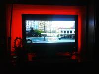 Podświetlenie tła ala ambilight do TV