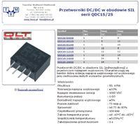 Zmiana napięcia 24VAC -> 5VDC, z pełną izolacją.