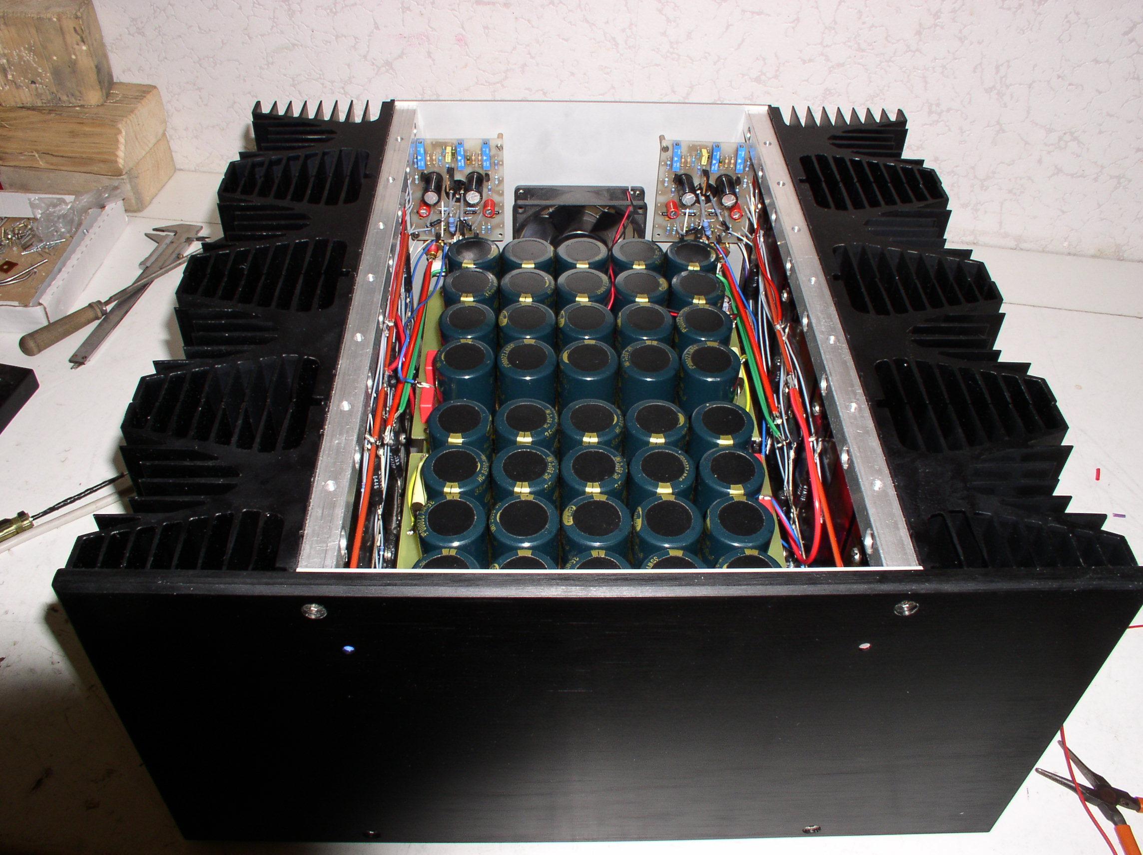 Wzmacniacz Mocy 4x750w 2ohm 6 Alephx 100w Amplifier Construction Notes