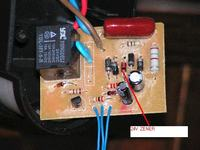 Czujnik ruchu - zamiana napięcia zasilania 230 - 12V