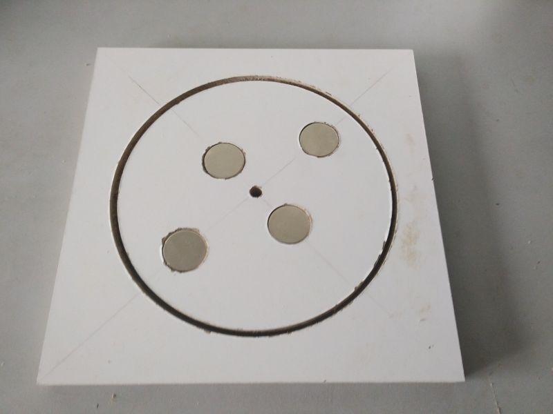 Jewelery magnetic polisher - Handmade by CMS