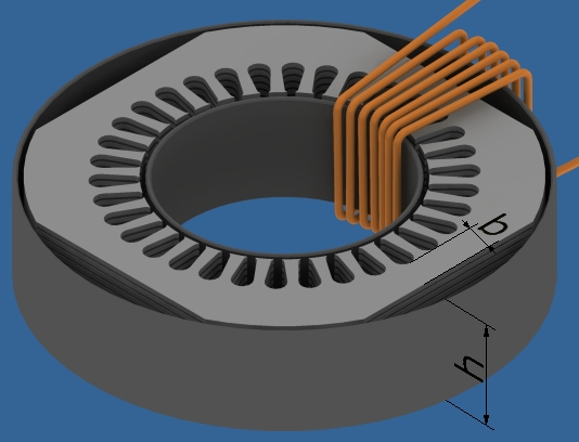Nawijarka transformator�w toroidalnych (toroid winder)