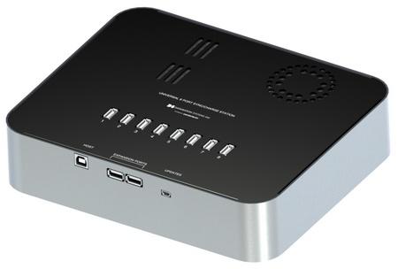 Datamation DS-IP-8-USC - uniwersalna 8-portowa stacja �aduj�co-synchronizuj�ca