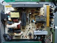 Gateway FPD 2485W - Nie działa podświetlanie matrycy