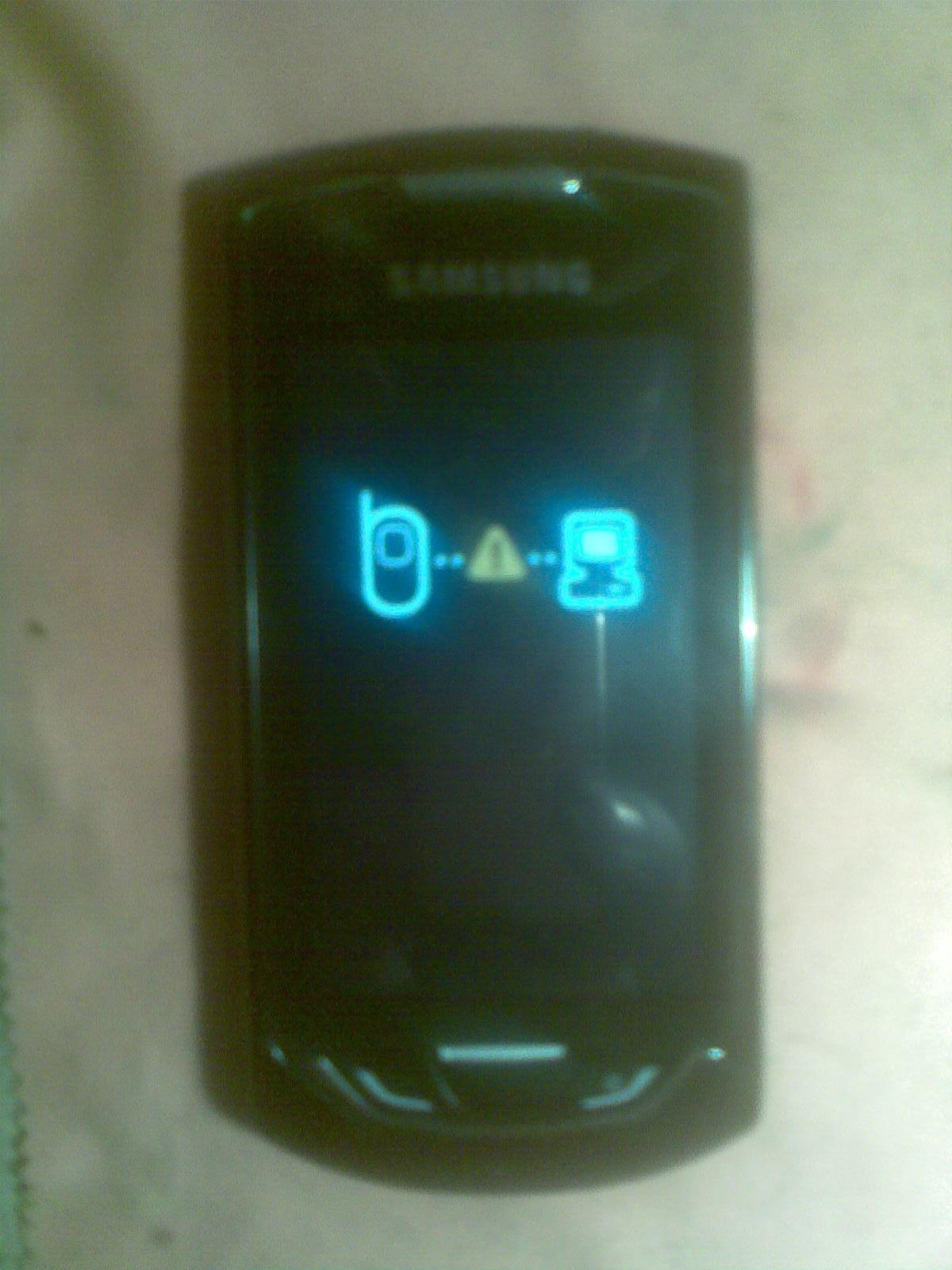 Samsung s5620 nie ��czy po b��dzie wgrywaniu softu