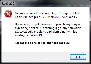 [MPLAB X] [XC8] - Warning podczas instalacji kompilatora.