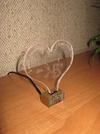 Lampka RGB w kształcie serca na ATTINY13