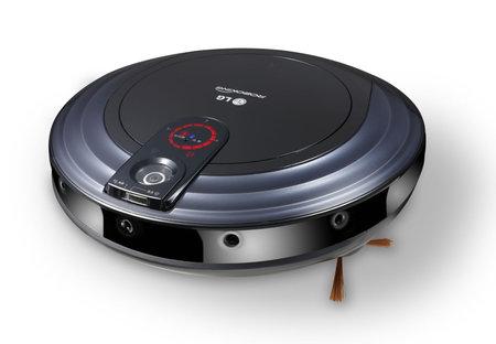 LG RoboKing 'Triple Eye' - odkurzacz z funkcją monitoringu i rozpoznawania głosu