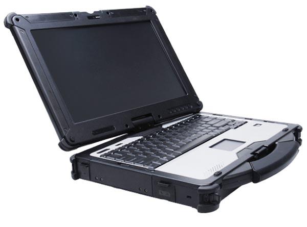 Gammatech RC13 - notebook w obudowie odpornej na upadek na beton z wys. 1 m