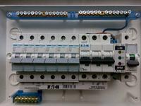 Złącza śrubowe - listwy zaciskowe N/PE a przewody aluminiowe