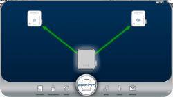 PowerLine - jeden nadajnik kilka odbiorników