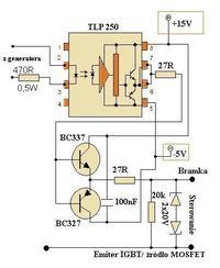 Mosfet AC switch - Drivery do mosfetów w układzie AC switch