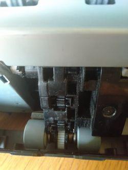 Brother mfc 235 c - wypadł plastikowy element