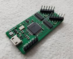 Izolowana galwanicznie przejściówka USB -> JTAG & UART