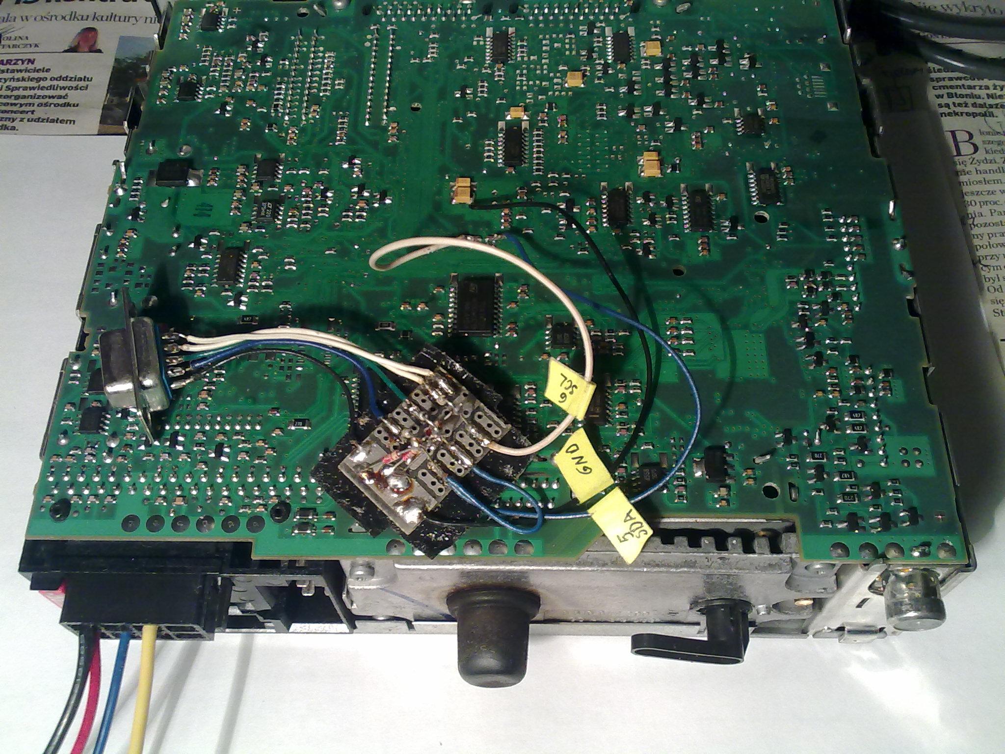 Blaupunkt BNO 881 - kod do radia z wsadu