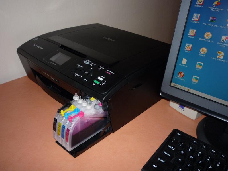 Dobre urządenie 3w1 drukujące z tanimi tuszami (zamiennikami)