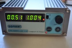 GOPHERT CPS-3205 adjustable switch mode power supply - description and review