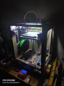 Drukarka 3D DIY - CoreXY ze sklejki