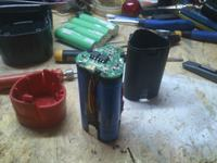 Wkr�tarka Parkside - Uszkodzony akumulator