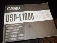 Prosz� o pomoc YAMAHA DSP-E1000