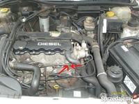 Opel Astra G 1,7 TD ucieka olej