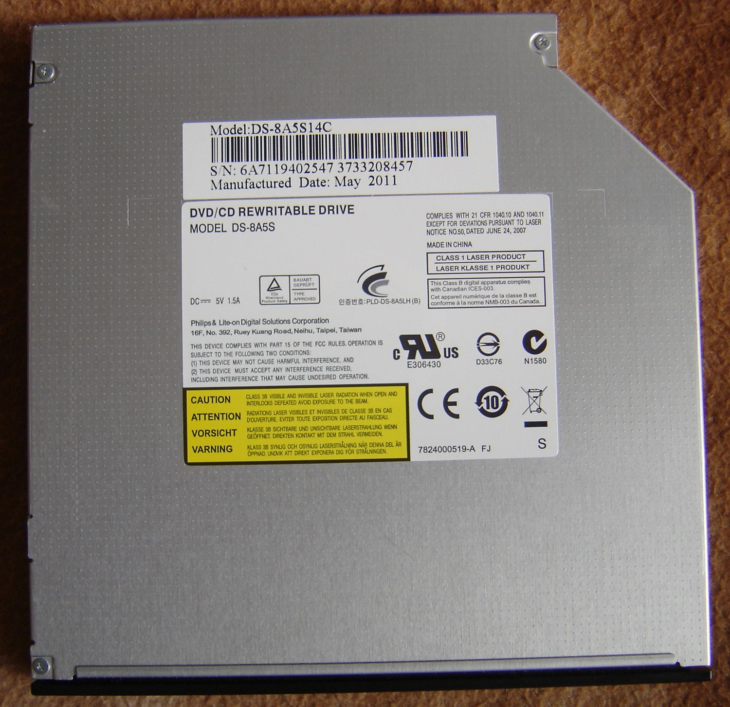 SLIMTYPE DVD A DS8A1H ATA DRIVER FOR WINDOWS