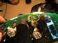 Audi a6 c5 99r - Wartość kondensatora w tacho
