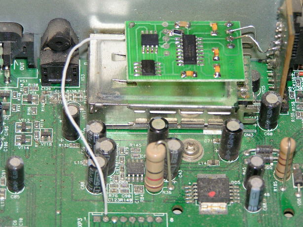 Модуль цепляется по интерфейсу