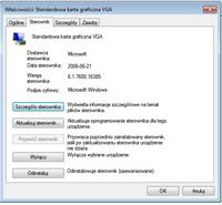 standardowa karta graficzna VGA windows 7