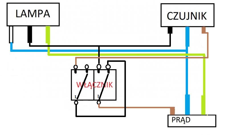 Kanlux Ce 81px Podłączenie Halogenu Z Czujnikiem Ruchu