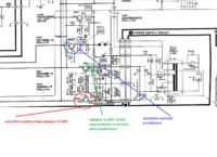 Technics RS-B505 - nie działa sterowanie (guziki)