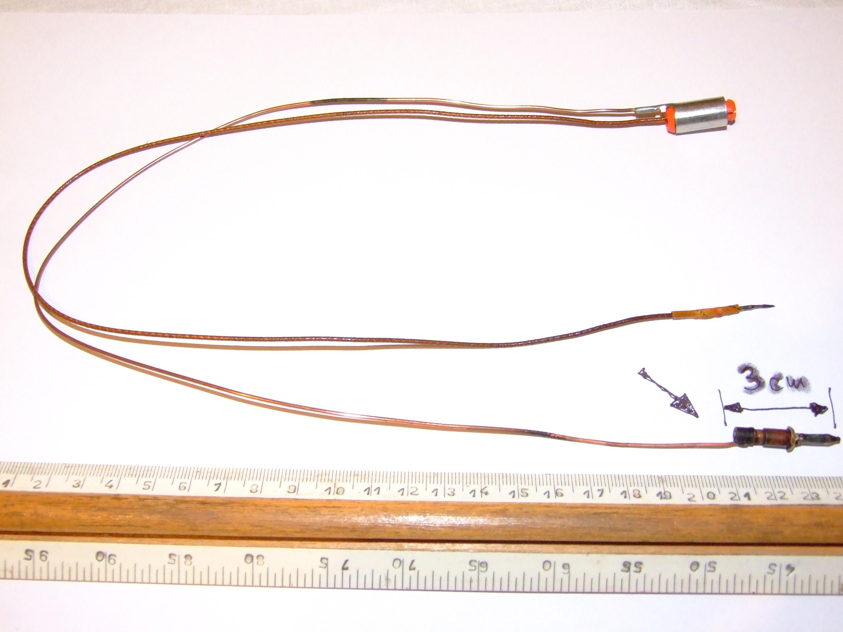 Kuchnia gazowa Gorenje  uszkodzona termopara  elektroda p -> Plyta Gazowa Mastercook Problem Z Odpalaniem