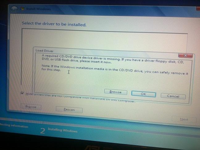asus x53sv - instalacja windows - prosba o sterowniki