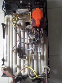 Brak ciepłej wody w podgrzewaczu wody elektrycznym siemens dht21r
