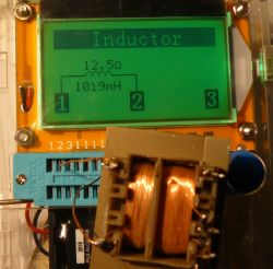 LCR-T4 electronics components tester ATMega328 - Test and Review